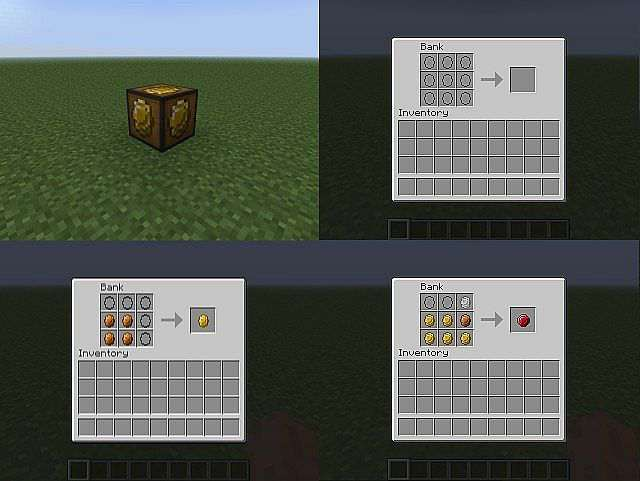 Ores and Coin Mod